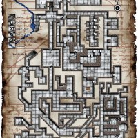 Le plan du jour : Ruins of Rauvinwatch Keep