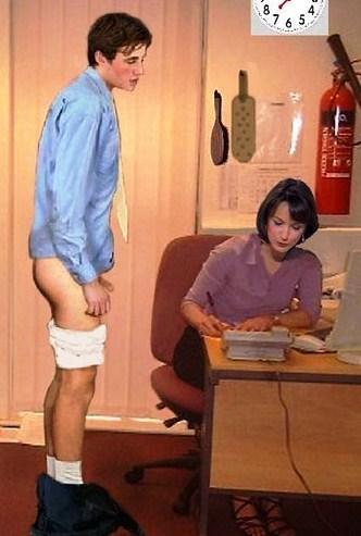 diaper punishment spanking