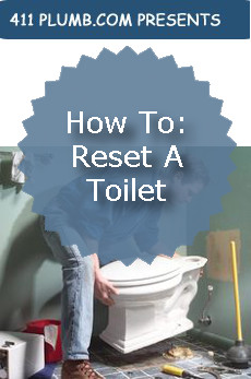 How To Reset A Toilet