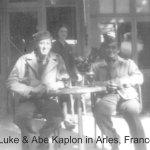 T.E. Luke & Abe Kaplon in Arles Fr