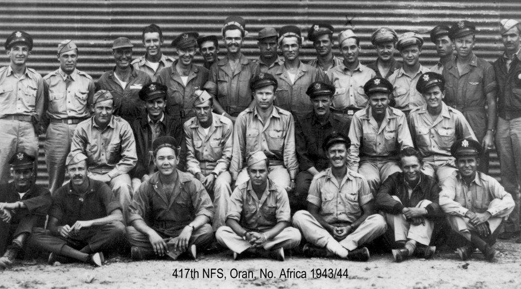 October 1943 - Original 417th NFS Crew