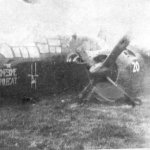 George Aubill made a wheels-up Landing after being waved off 3 times