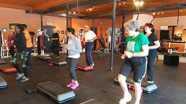fitness over fifty wednesdays oak park, il