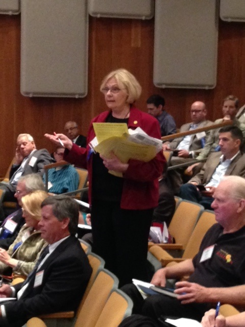 Novato Mayor Pat Ecklund has been speaking out against the merger