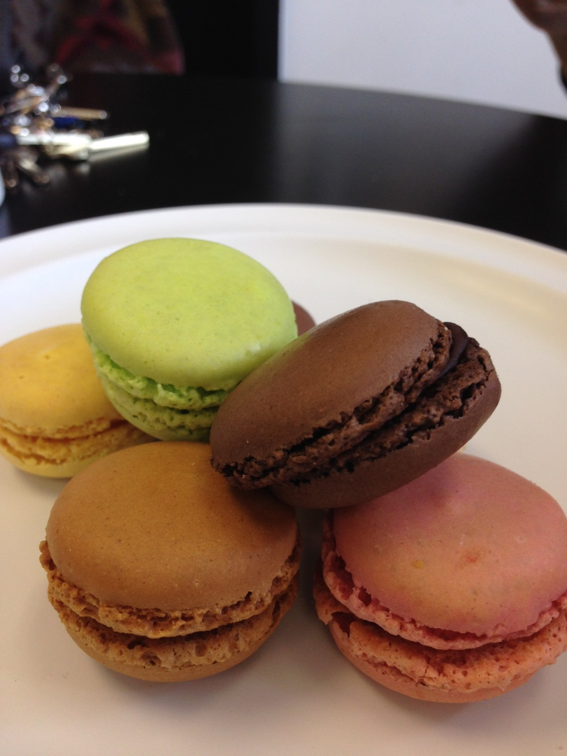 Flown from France.. Macaron's