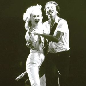 Bruce Springsteen and I Dancing on stage at the Rosemont Horizon, November 20, 1980. #The River Tour