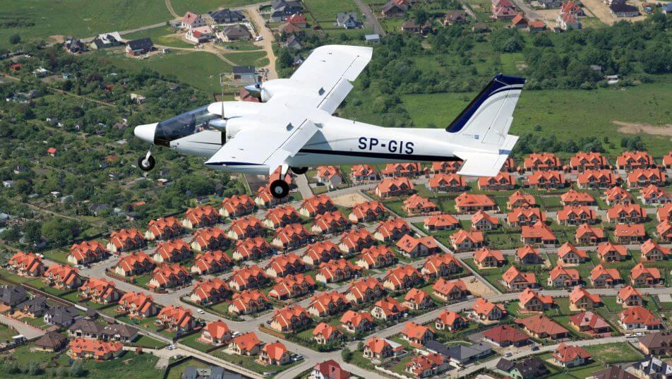 zdjęcia z samolotu szczecin