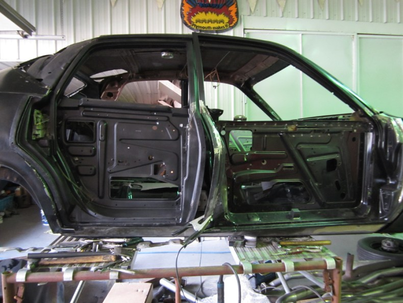 Stock B Body Rear Door