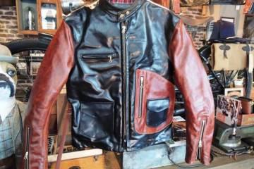 vanson x T-bird shop // CYCLE CHAMP D POCKET Jacket