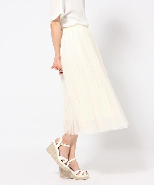 履くだけでカワイイ♡春にはきたい「プリーツスカート」その5