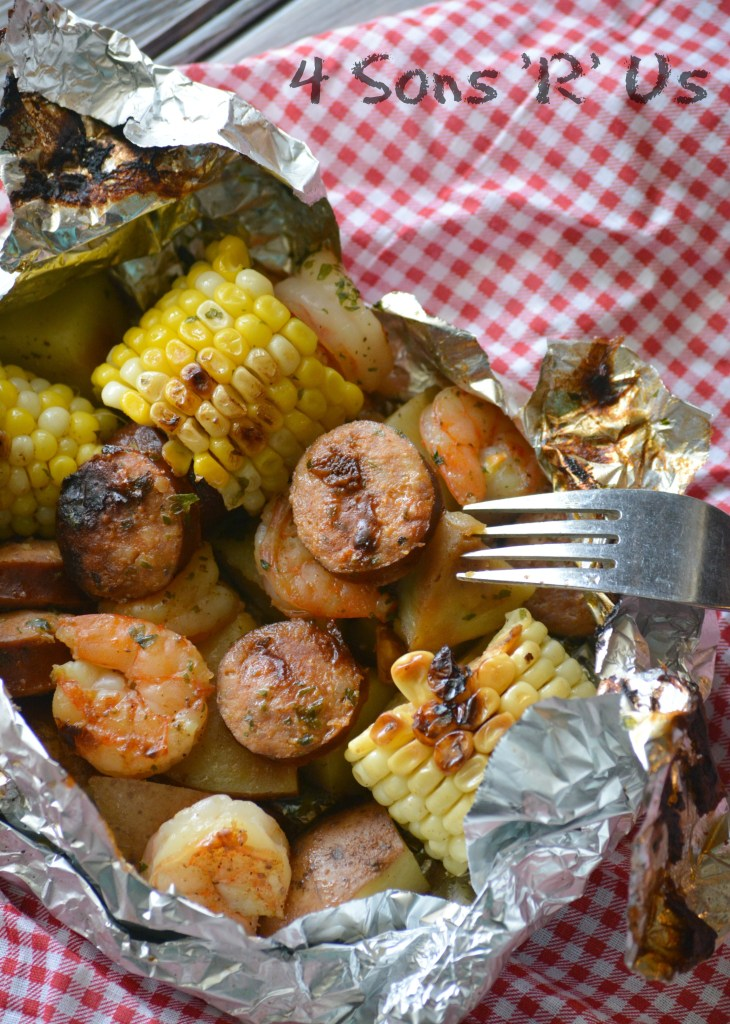 Low Country Boil Foil Packets 3