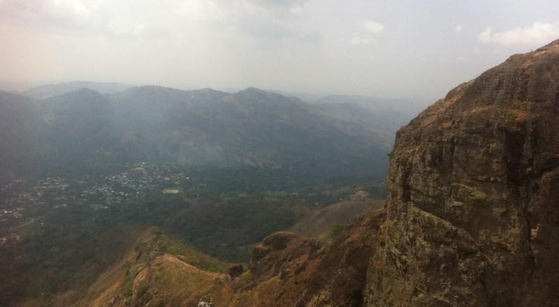 View from Puerto Del Diablo