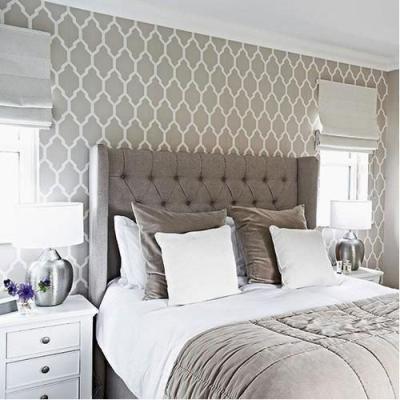 PVC Printed Fancy Bedroom Wallpaper, Rs 1500 /roll, D Design Decor | ID: 15488143862