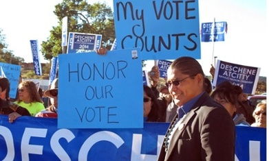 Navajo tribe disqualifies presidential candidate over language fluency