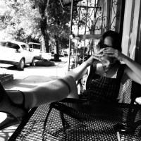 Coffee Break, Who Dat Cafe, Mandeville Street, New Orleans, September 19, 2014