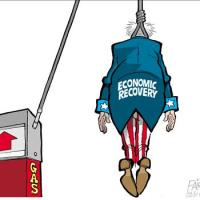 Gas Prices Skyrocket, Hyperinflation Looms As Oblamea Denies His Policies Are Responsible