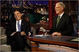 obama letterman