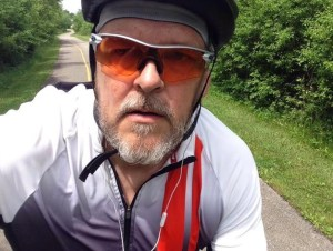 Mark May 27th ride in Chi