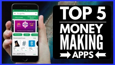 Top-5 IOS-Apps Make Money Online - 55 Gadgets