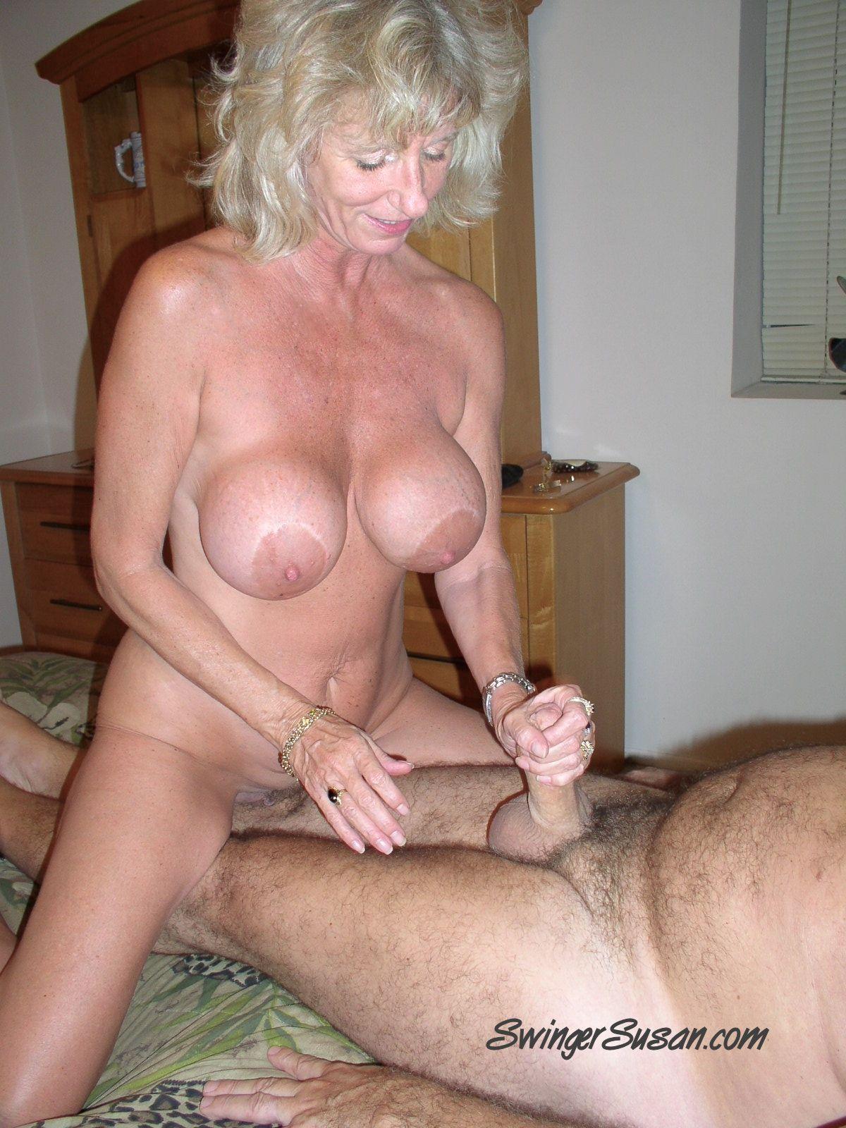 big swinging tits anal