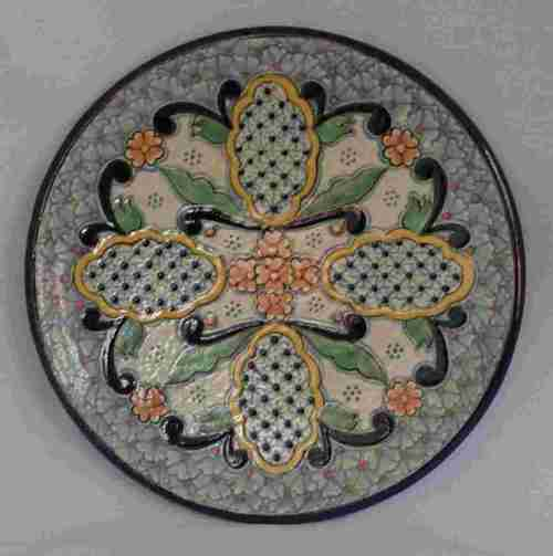 Diverting Classic Talavera Plate Wide Selection Talavera Direct From Mexico Direct Flights Mexico Havana Buy Direct From Mexico