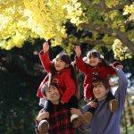 武蔵国分寺公園こむの木家族写真