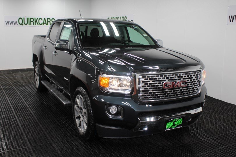 New 2018 GMC Canyon 4WD Denali Crew Cab Pickup in Manchester  G14544     New 2018 GMC Canyon 4WD Denali