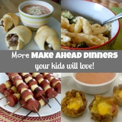 More Kid Friendly Dinner Ideas