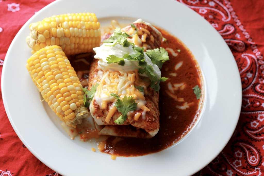 Slow Cooker Burritos