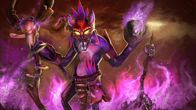 witch doctor dota 2