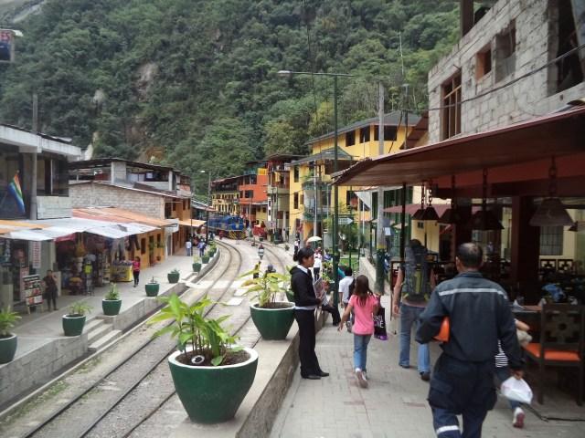 Aguas Calientes (Machu Picchu town).