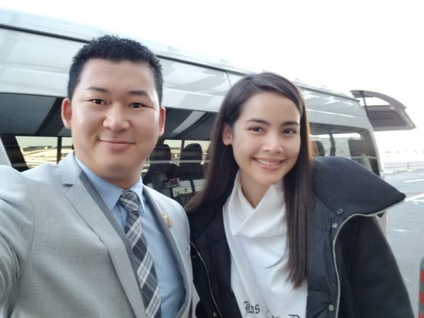 Khun Yaya with Japan Royal Service