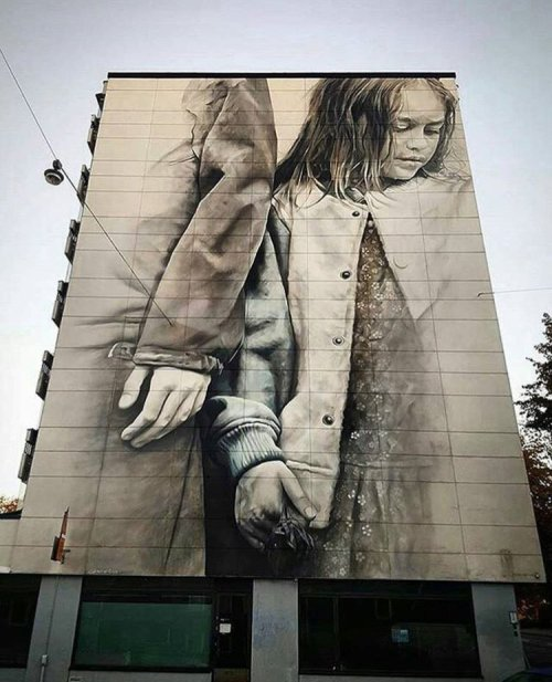 barbarapicci:  (via Streetart News [wall 670] - Guido van Helten, Bezt Etam, AQI Luciano)  Click for the gallery:https://barbarapicci.com/2016/10/15/streetart-news-670/