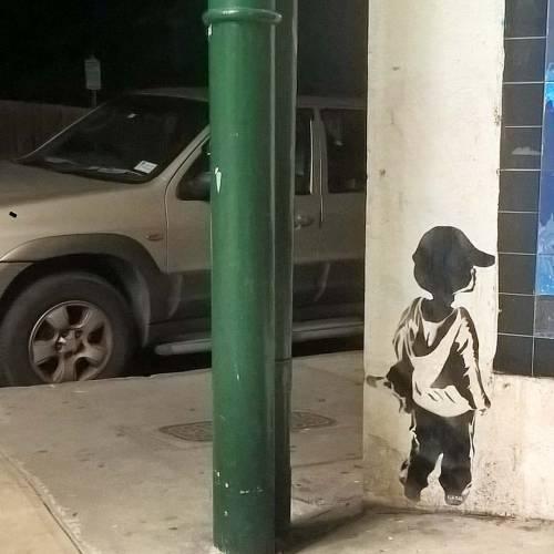 camostreetart:  #camo #camostreetart #stencilart #streetart #graffiti #handcut #handpainted #art #painting #wheatpaste #pasteup #innerwest #sydneystreetart #sydney #kids