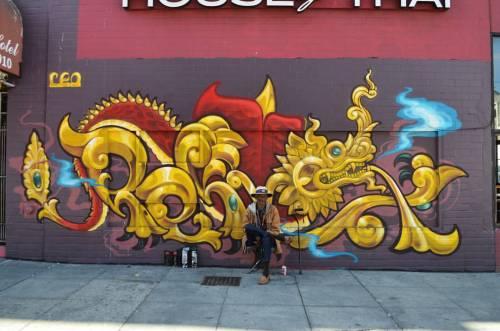 bayareagraffiti1er:  House of Thai #Pemex #LOLc #graffiti #grafflife #graff #tag #taggin #burner #piece #art #streetart #bayareagraffiti #mtn #montana #SFgraff #rusto #Krylon #instagraff #aerosolart #ironlak #graffporn #throwie #WeLoveBombing