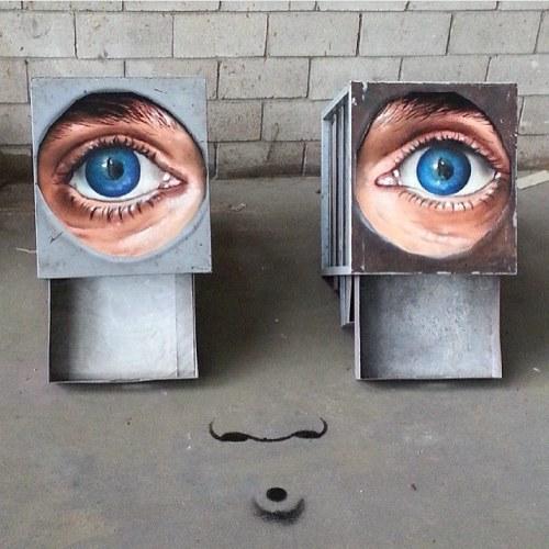 veryprivateart:Street art by Sfhir