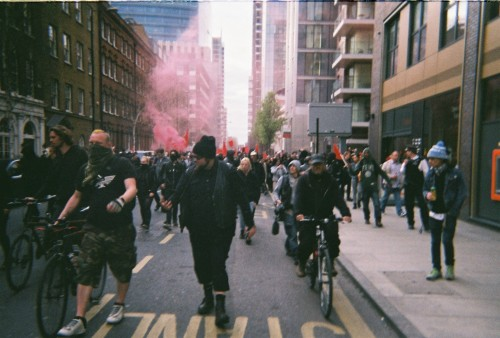 thelondonvagabond:  May day x disposable x 2016