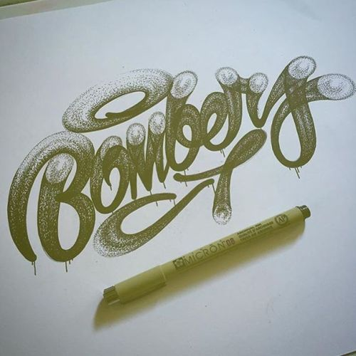 bizarrebeyondbelief:  Graffiti inspired hand drawn typography work by @millsnic.#ryanmills #typography #graffiti #illustration