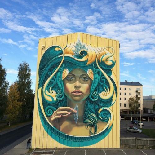 noisemx:  Katutaide x WD (Wild Drawing) - Prosperity (Finland, 2016).