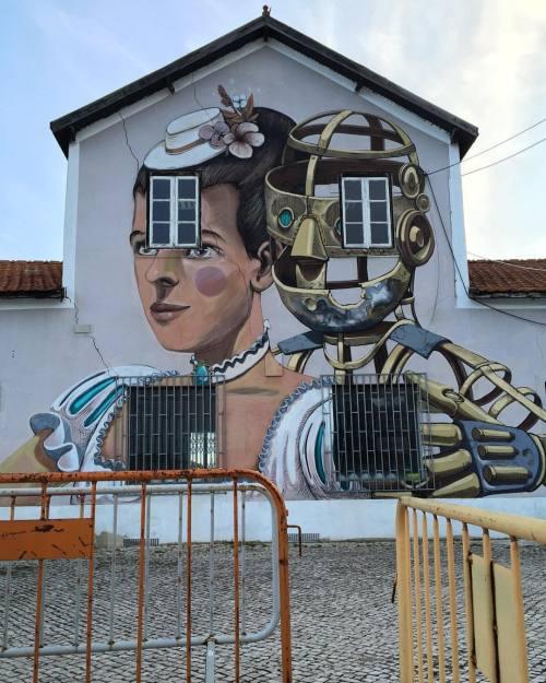 streetheart-serendipity:  Masterpiece by @pixelpancho @underdogs10 #streetart #art #lisbonne #lisboa #lisbon #lisbonstreetart #lisboastreetart #lisbonnestreetart #streetartlisboa #streetartlisbon #streetartlisbonne #urbanart #graf #arteurbano #arteurbana #underdogsgallery #igerslisboa #pixelpancho (à Port of Lisbon, Portugal)