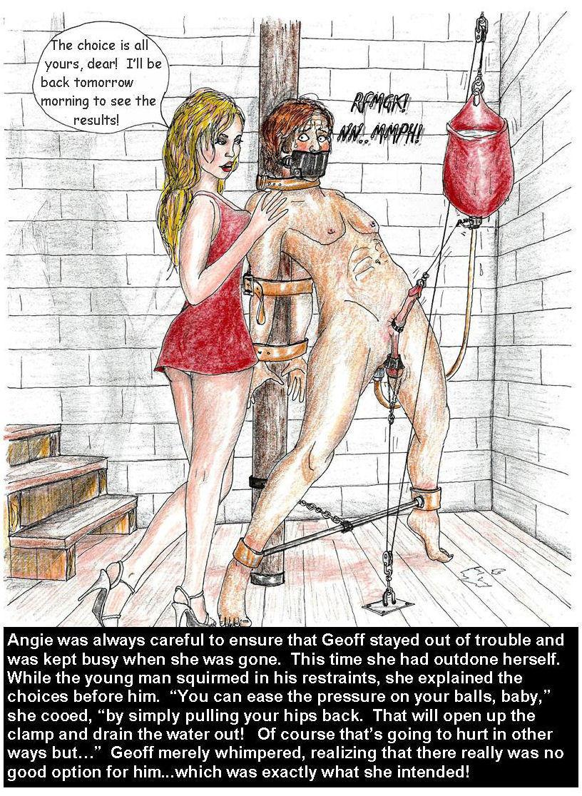 femdom male bondage