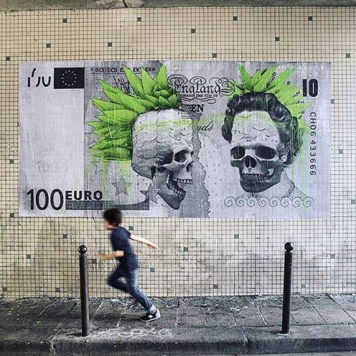 coloursxart:  Brexit by Ludo - Located in Paris, France