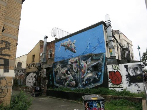 graffitilanes:  Murals of Shoreditch, East London. July 2016.