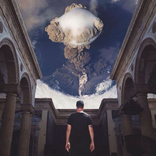 littlelimpstiff14u2:Charlie Davoli Riccardo Schirinzi Charlie Davoli, surreal worlds collages … and the Iphone Via