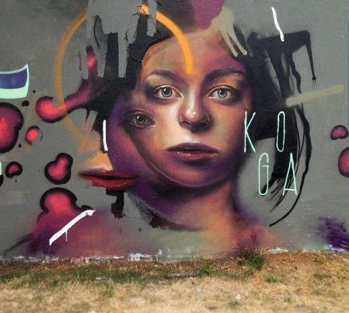 streetartglobal:  Incredible piece by @koga.one in France. [http://globalstreetart.com/kogaone]#GlobalStreetArt #Kogaone https://www.instagram.com/p/BKeD6HjD2ye/