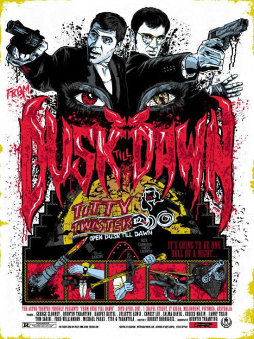 thepostermovement:  From Dusk Till Dawn by Rhys Cooper