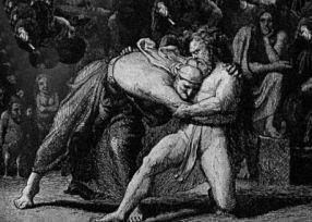 Elli Wrestling Thor from Ars Poetica