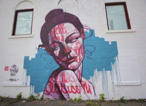 streetartglobal:  Wicked piece by @titoferrara in #Brasil#woman #face #muralhttp://globalstreetart.com/titoferrara https://www.instagram.com/p/BKjWFPGDO2a/