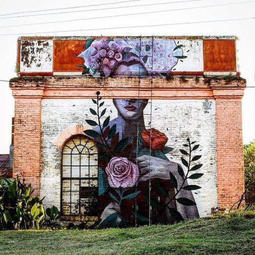 streetartglobal:  Yet another incredible piece of wall art by @artez_online in Argentina. Beautiful work. http://globalstreetart.com/artezonline#globalstreetart #artezonline #mural #wallart #streetarteverywhere #streetartist #argentina https://www.instagram.com/p/BJBGVsYjQ6e/