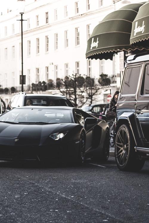 superior-luxxxury:  azearr:  Aventador in London | Source | AzearrFOLLOW US ON INSTAGRAM!!!